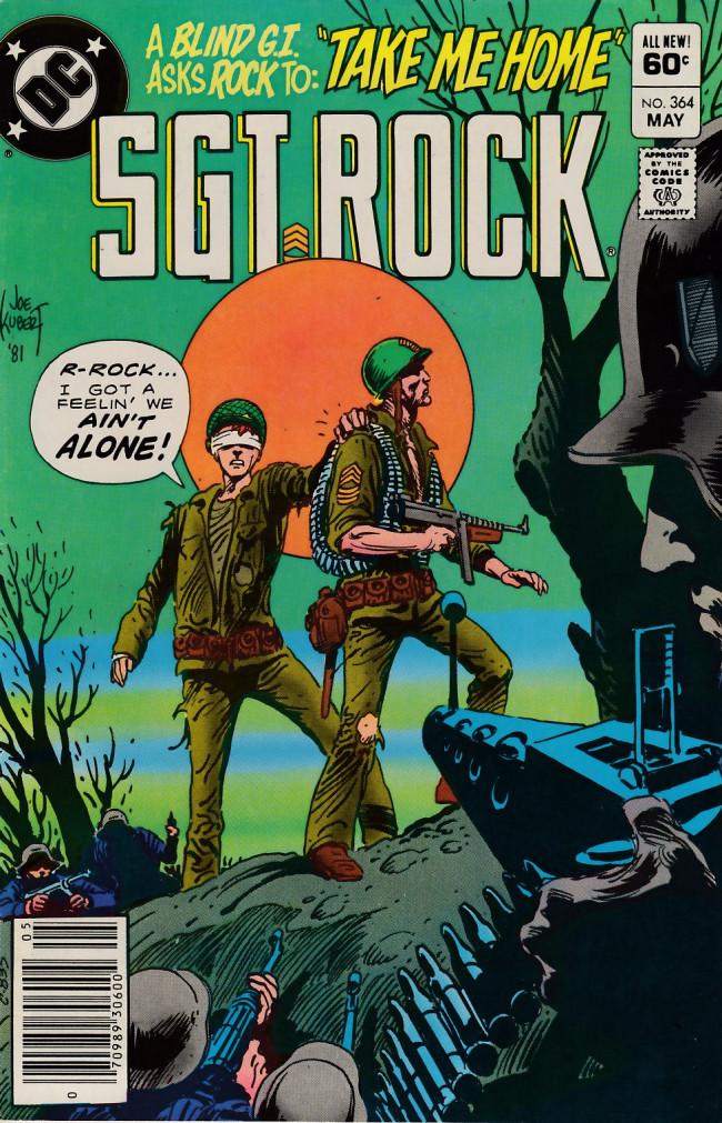 Couverture de Sgt. Rock (1977) -364- Take Me Home!