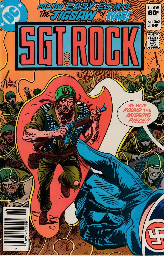 Couverture de Sgt. Rock (1977) -366- Jigsaw