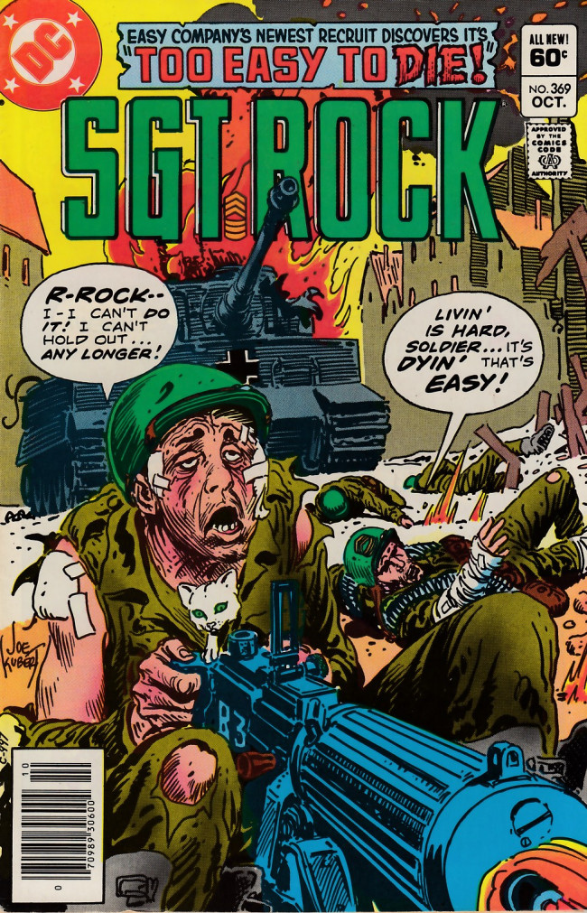 Couverture de Sgt. Rock (1977) -369- Too Easy to Die