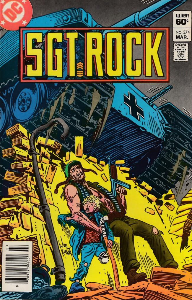 Couverture de Sgt. Rock (1977) -374- Trust Me