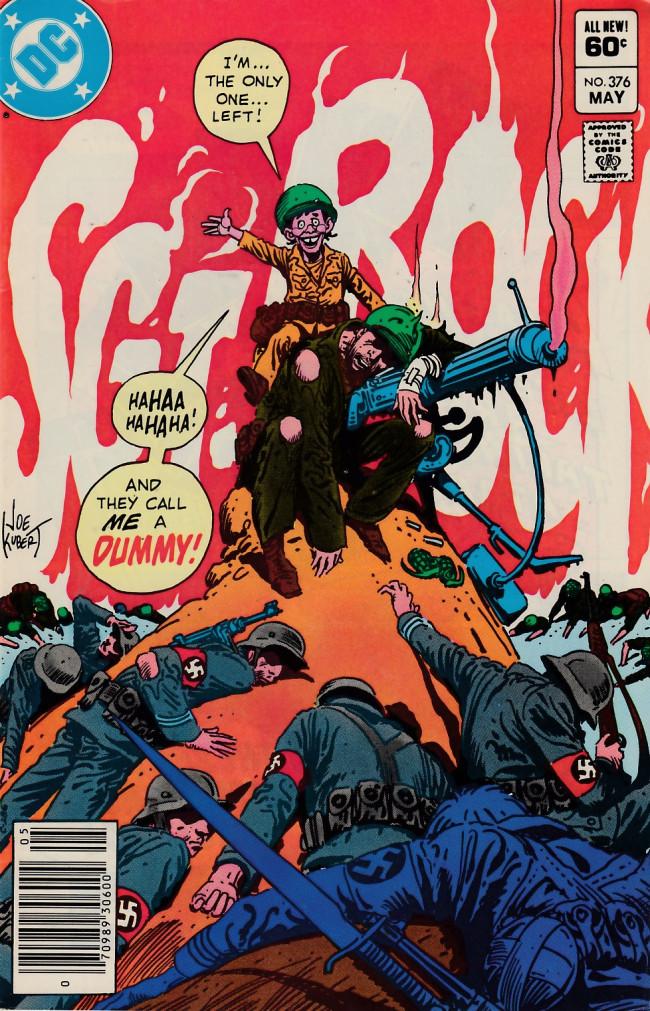 Couverture de Sgt. Rock (1977) -376- The Dummy - Part 2