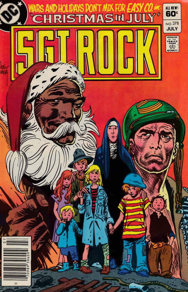 Couverture de Sgt. Rock (1977) -378- Christmas in July