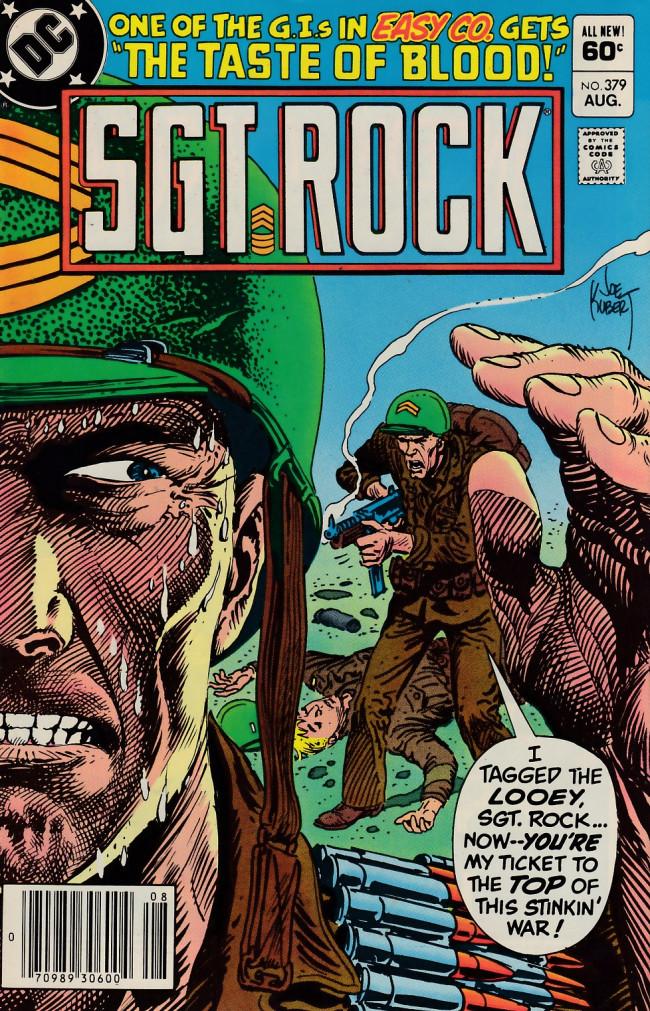 Couverture de Sgt. Rock (1977) -379- The Taste of Blood