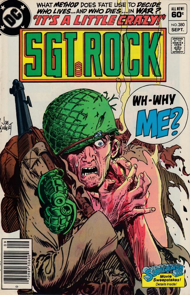 Couverture de Sgt. Rock (1977) -380- It's a Little Crazy