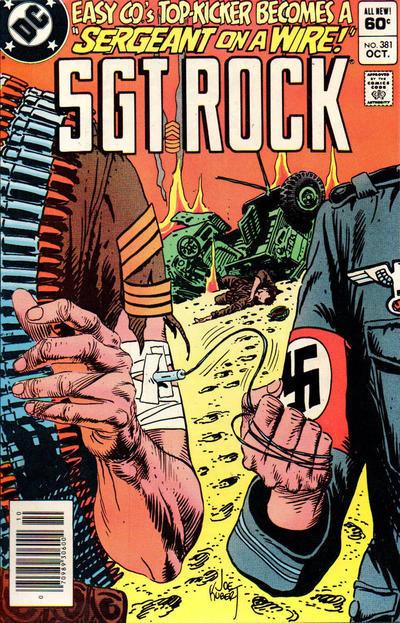 Couverture de Sgt. Rock (1977) -381- Sergeant on a Wire