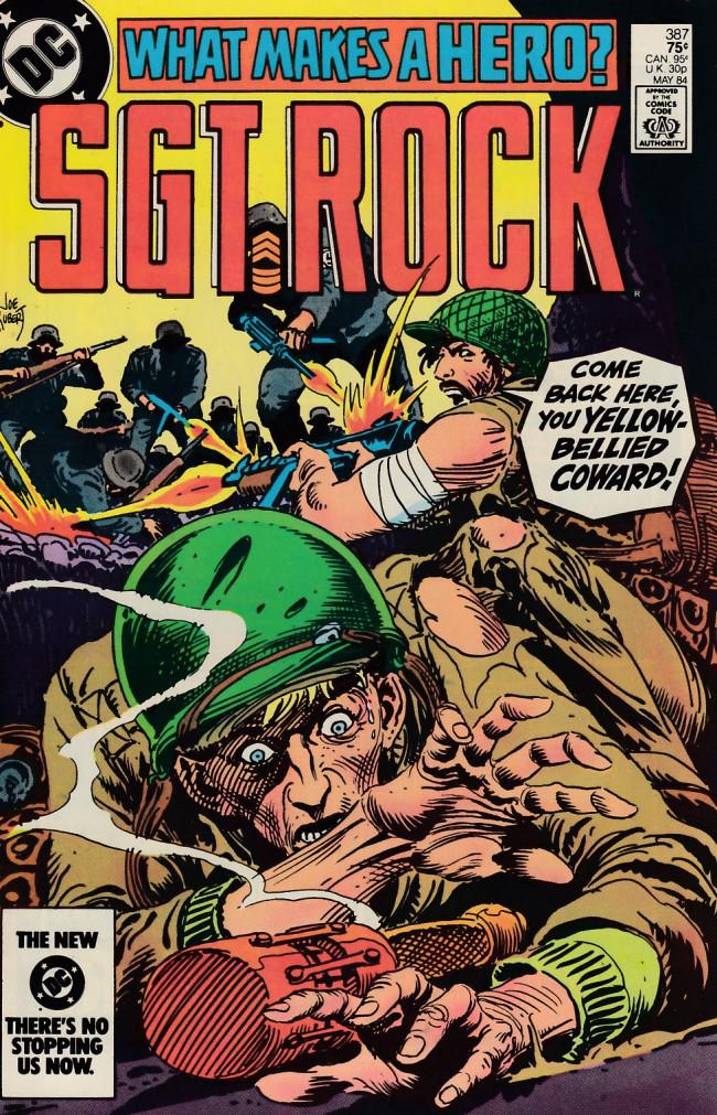 Couverture de Sgt. Rock (1977) -387- What Makes a Hero?
