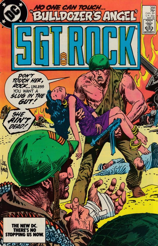 Couverture de Sgt. Rock (1977) -388- Bulldozer's Angel
