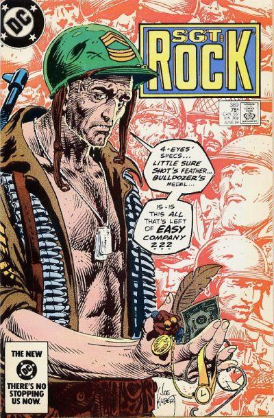 Couverture de Sgt. Rock (1977) -389- A Pocketful of Easy