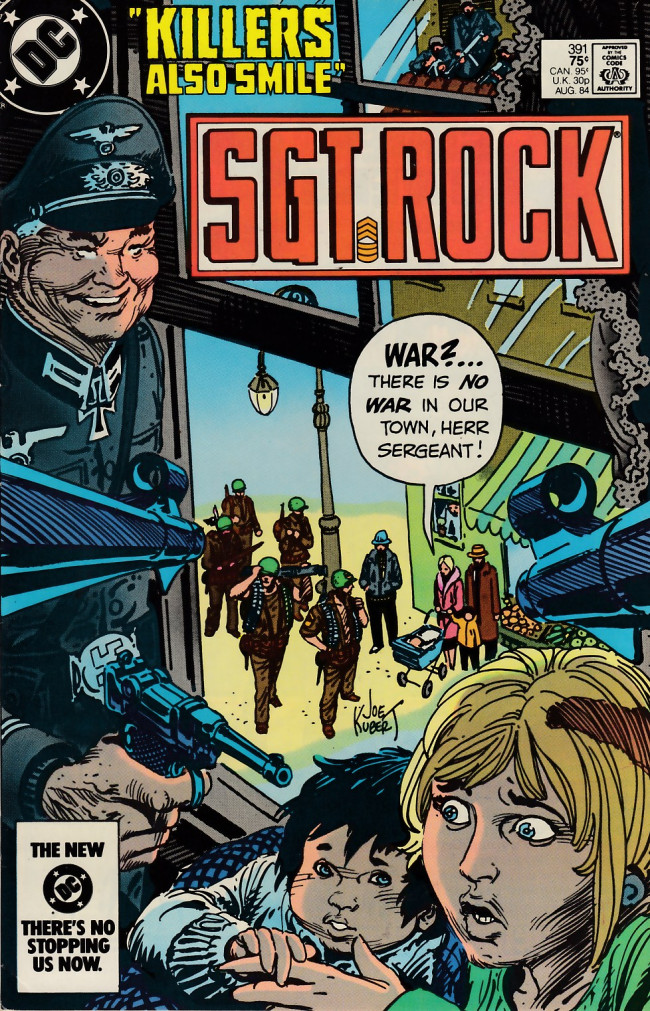 Couverture de Sgt. Rock (1977) -391- Killers Also Smile
