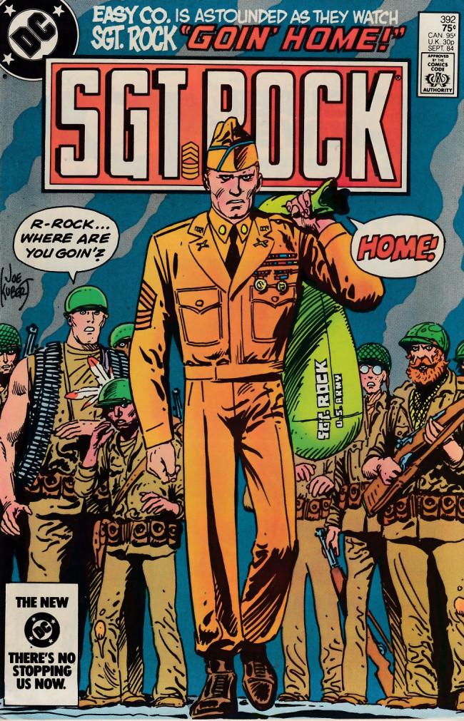 Couverture de Sgt. Rock (1977) -392- Goin' Home