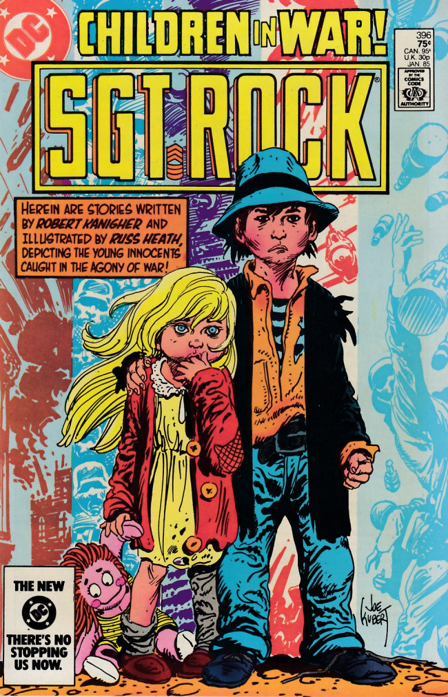 Couverture de Sgt. Rock (1977) -396- A Piece of Rag...a Hank of Hair!