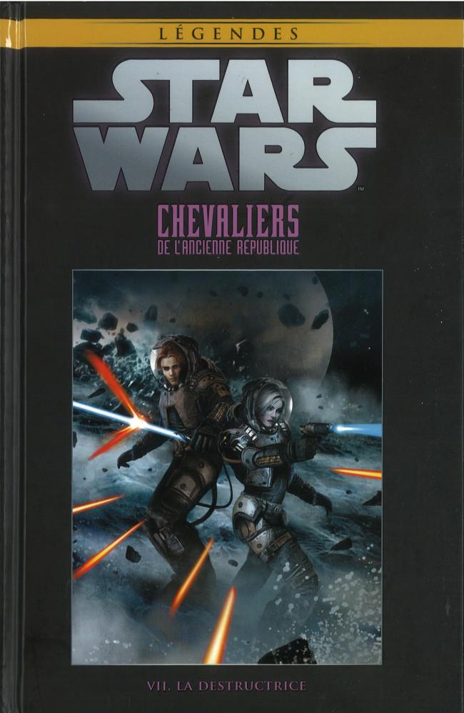 Couverture de Star Wars - Légendes - La Collection (Hachette) -7316- Chevaliers de L'Ancienne République - VII. La Destructrice
