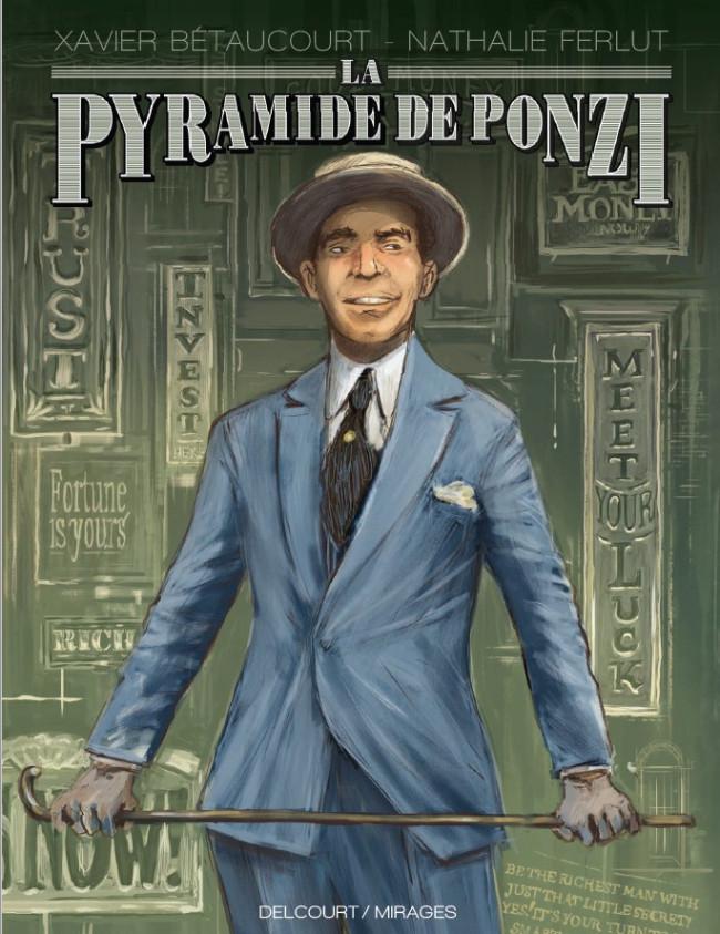 Couverture de La pyramide de Ponzi