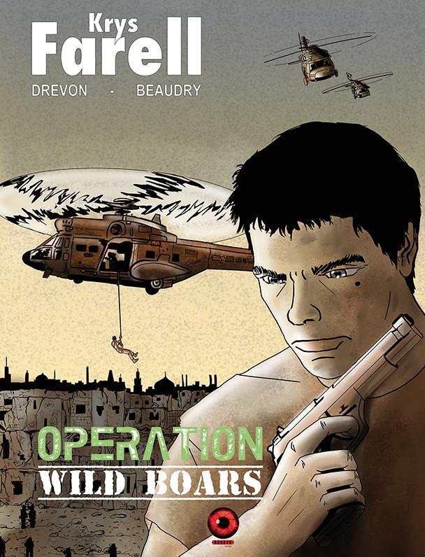 Couverture de Krys Farell -3- Opération Wild Boars