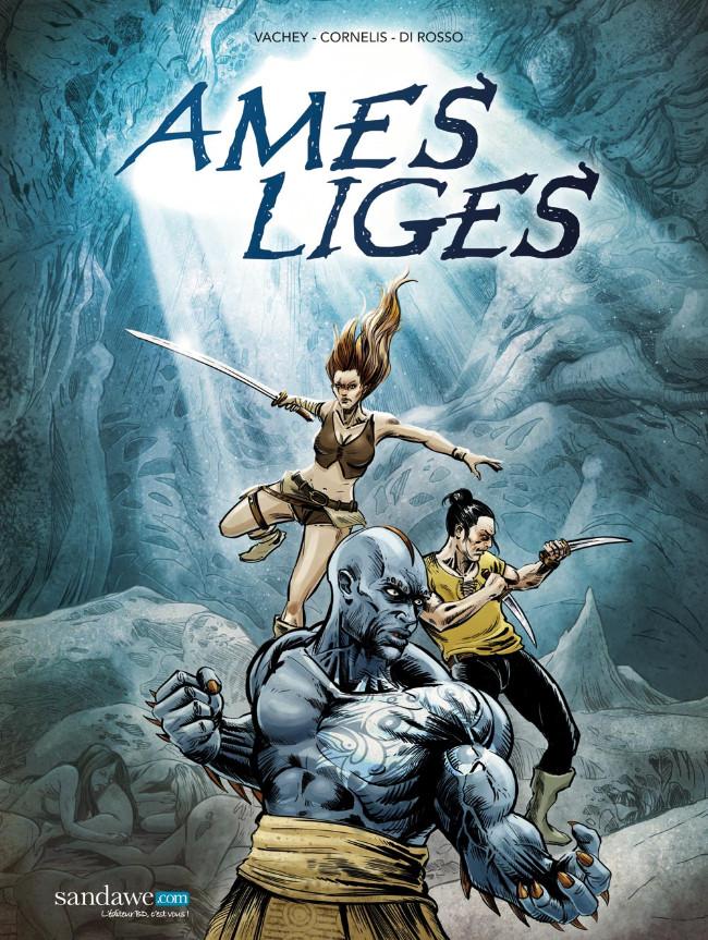 Couverture de Ames-Liges