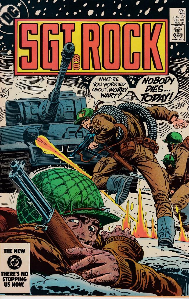 Couverture de Sgt. Rock (1977) -394- Noobody Dies...Today