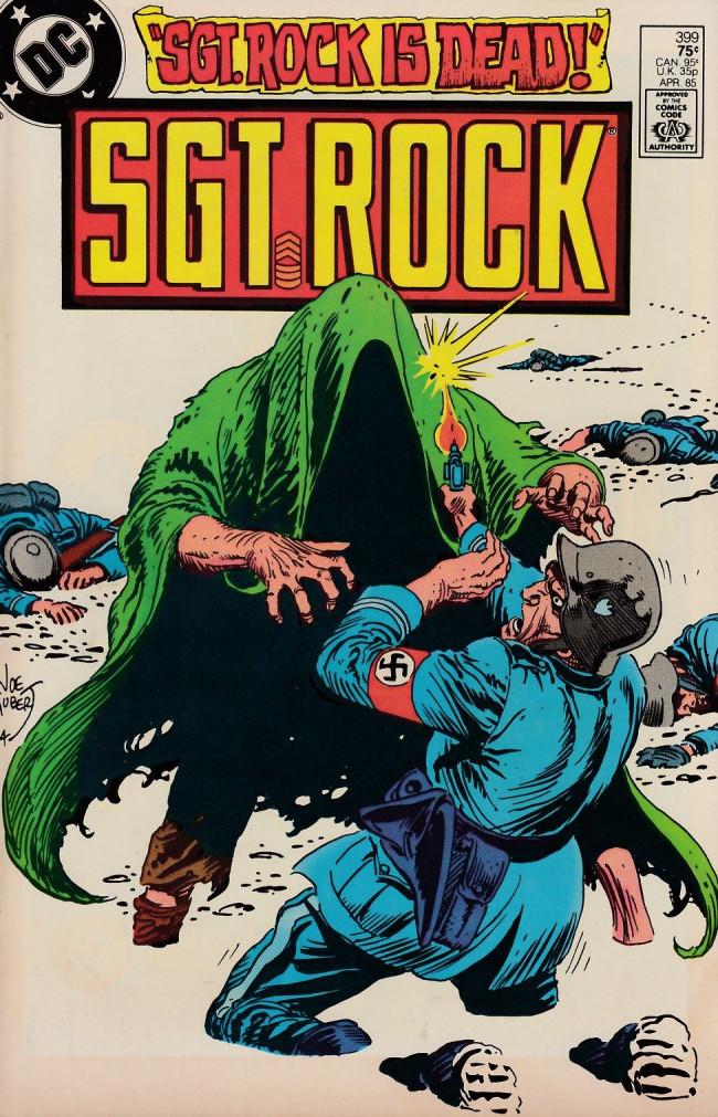 Couverture de Sgt. Rock (1977) -399- Sgt. Rock Is Dead