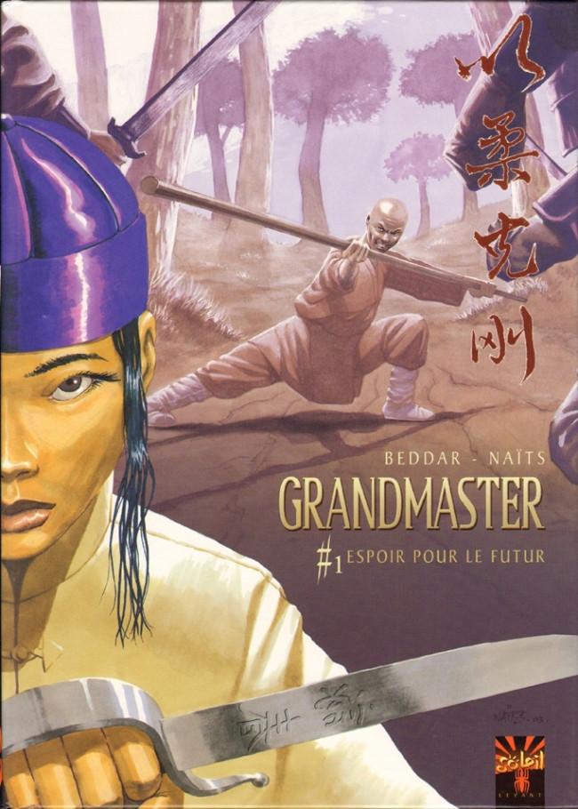 Couverture de Grandmaster -1- Espoir pour le Futur