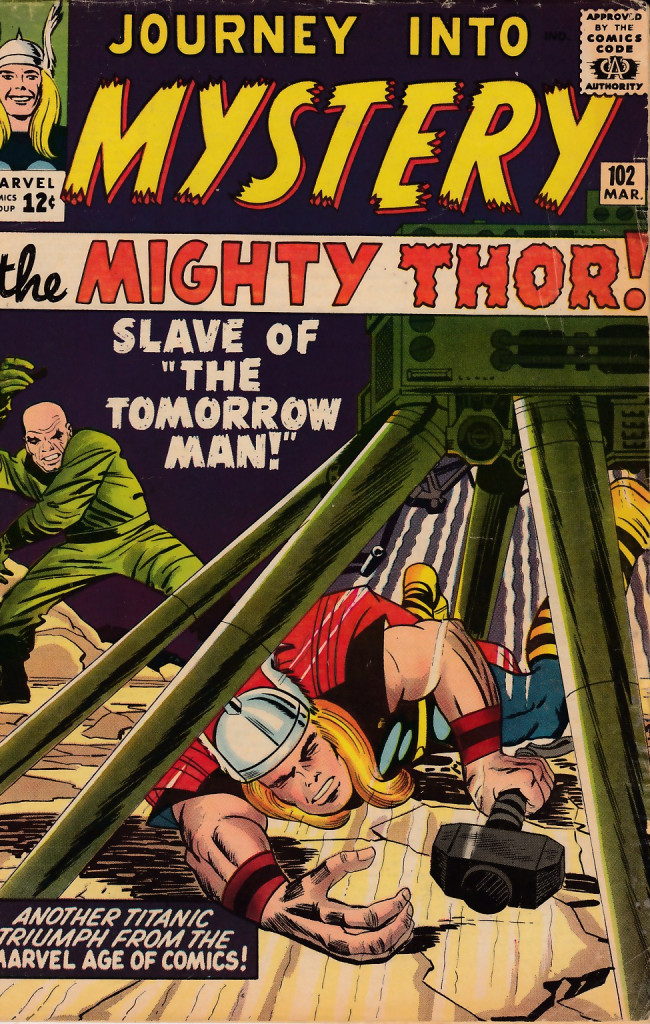 Couverture de Journey into Mystery (1952) -102- Slave of Zarrko, the Tomorrow Man!