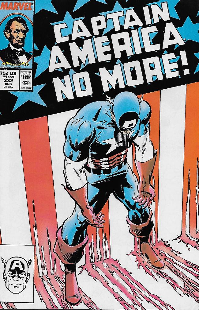 Couverture de Captain America (1968) -332- The Choice