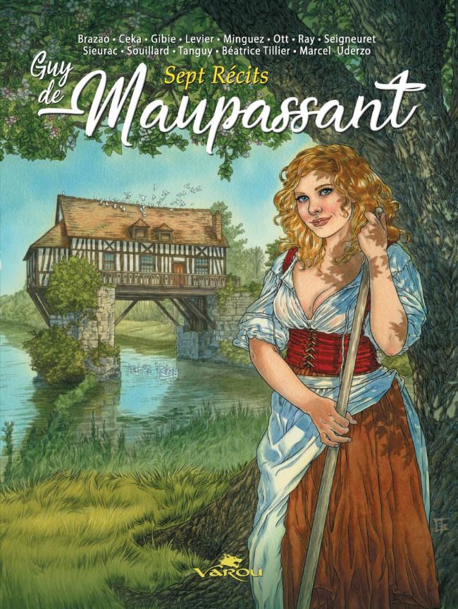 Couverture de Guy de Maupassant -1- 7 récits