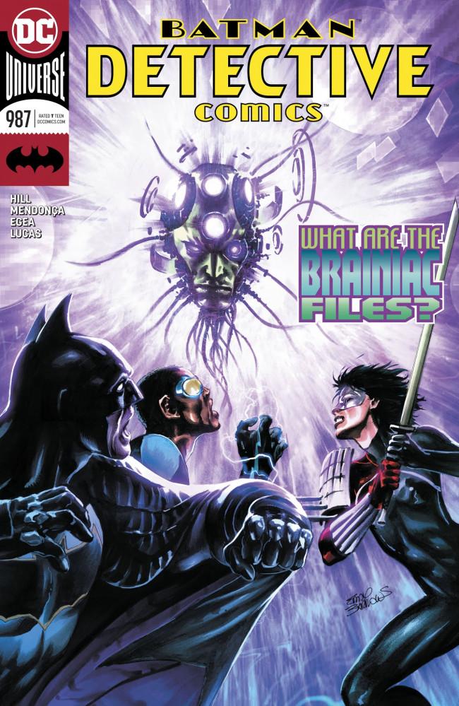 Couverture de Detective Comics (1937) -987- On The Outside - Finale