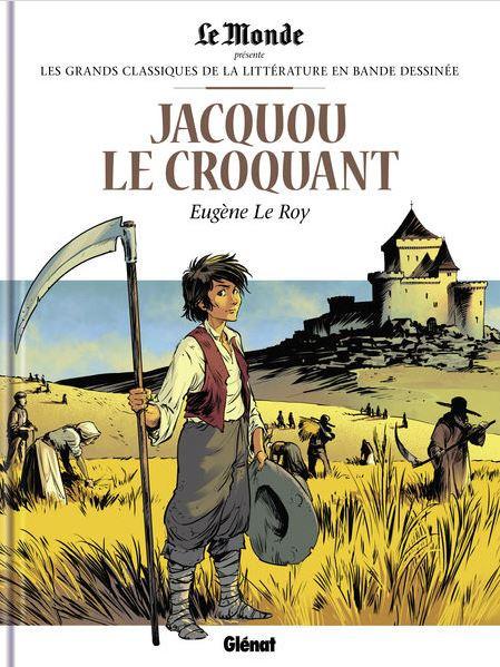 Couverture de Les grands Classiques de la littérature en bande dessinée -44- Jacquou le Croquant