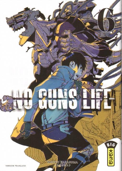 Couverture de No guns life -6- Tome 6