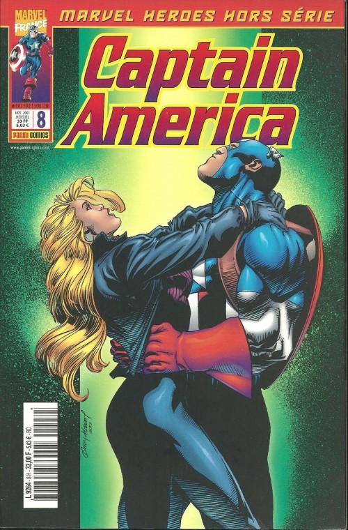 Couverture de Marvel Heroes Hors Série (Marvel France - 2001) -8- Spécial Captain America