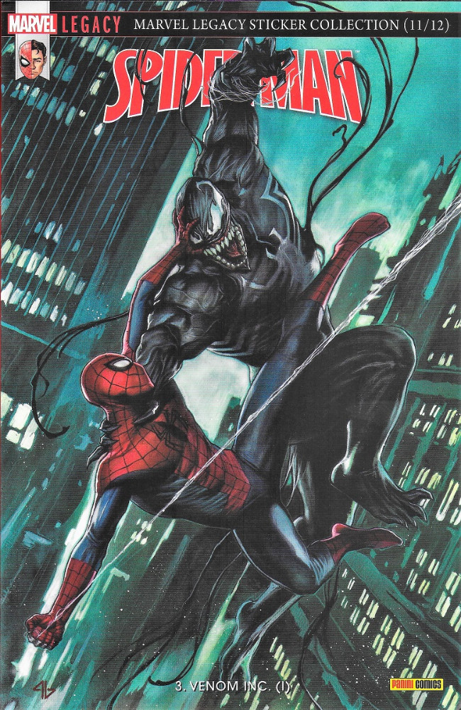 Couverture de Marvel Legacy - Spider-Man (Marvel France - 2018) -3- Venon INC (1)