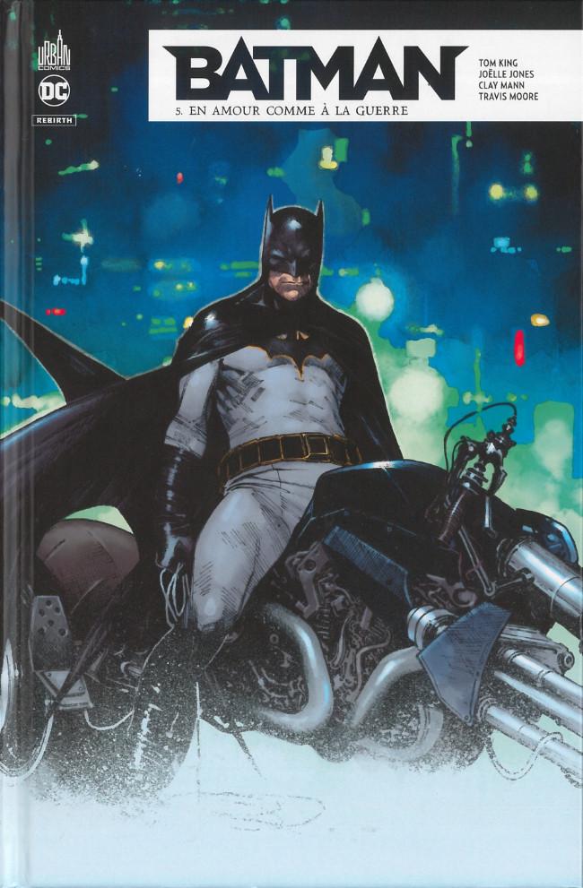 Couverture de Batman Rebirth -5- En amour comme à la guerre