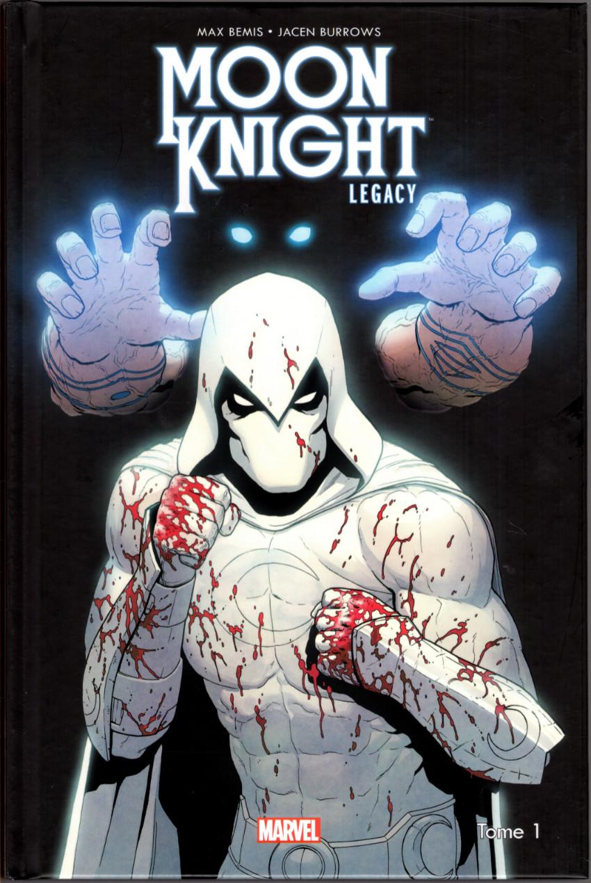 Couverture de Moon Knight Legacy -1- La Folie dans le sang
