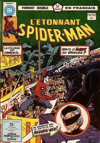 Couverture de L'Étonnant Spider-Man (Éditions Héritage) -119120- Marathon