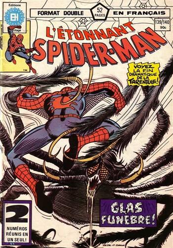 Couverture de L'Étonnant Spider-Man (Éditions Héritage) -139140- Le glas !