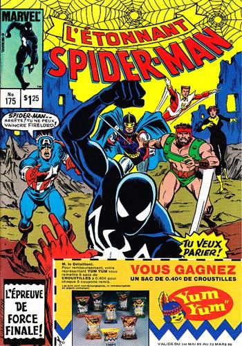 Couverture de L'Étonnant Spider-Man (Éditions Héritage) -175- Le héros et l'holocauste !