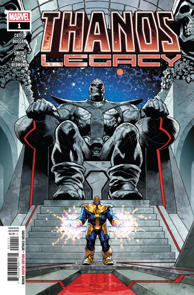 Couverture de Thanos Legacy (2018) - Tome 1