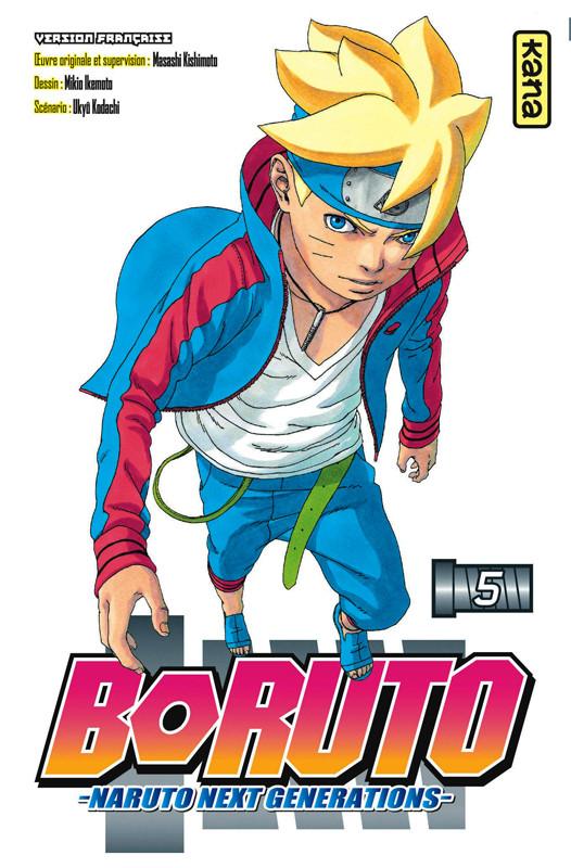 Couverture de Boruto - Naruto Next Generations -5- Ao