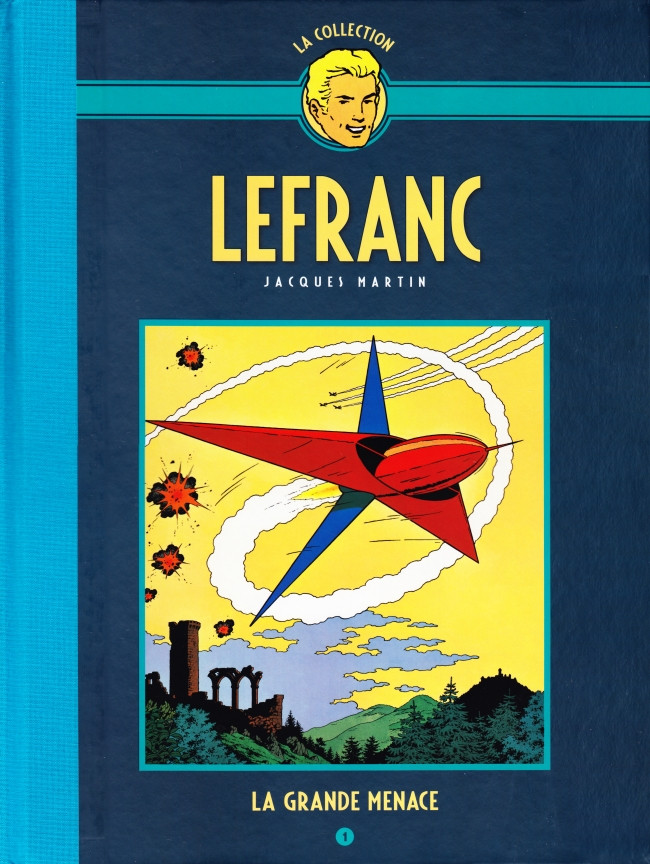 Couverture de Lefranc - La Collection (Hachette) -1- La Grande Menace