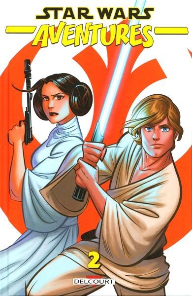 Couverture de Star Wars - Aventures -2- Tome 2