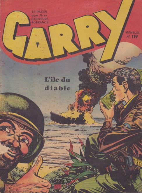 Couverture de Garry -119- L'île du Diable