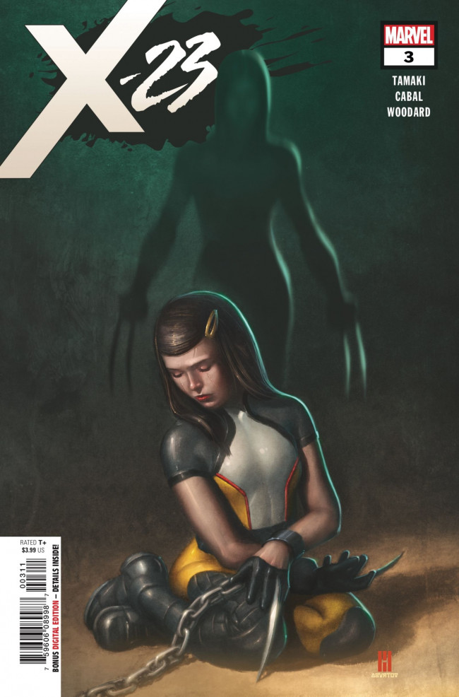 Couverture de X-23 (2018) -3- Two Birthdays and Three Funerals: Part 3