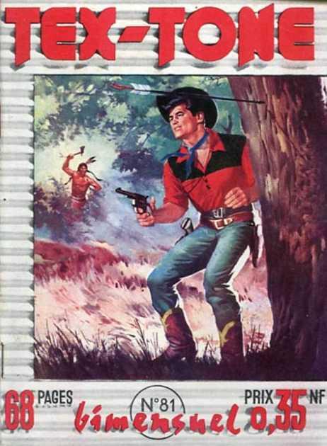 Couverture de Tex-Tone -81- Les révoltés de Boot-Blossom