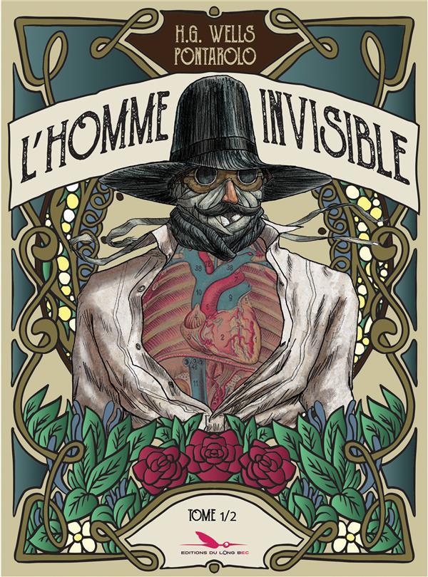 Couverture de L'homme invisible (Pontarolo) -1- Tome 1/2