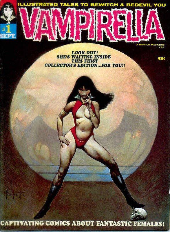 Couverture de Vampirella (Warren) -1- (sans titre)