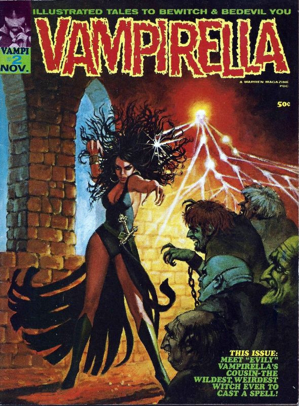 Couverture de Vampirella (Warren) -2- (sans titre)
