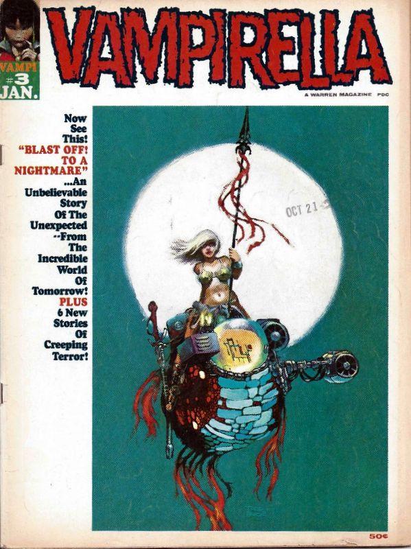 Couverture de Vampirella (Warren) -3- (sans titre)