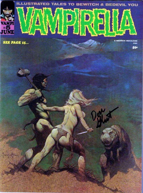 Couverture de Vampirella (Warren) -5- (sans titre)