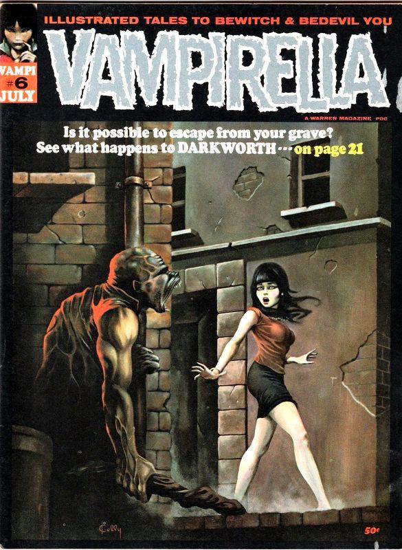 Couverture de Vampirella (Warren) -6- (sans titre)