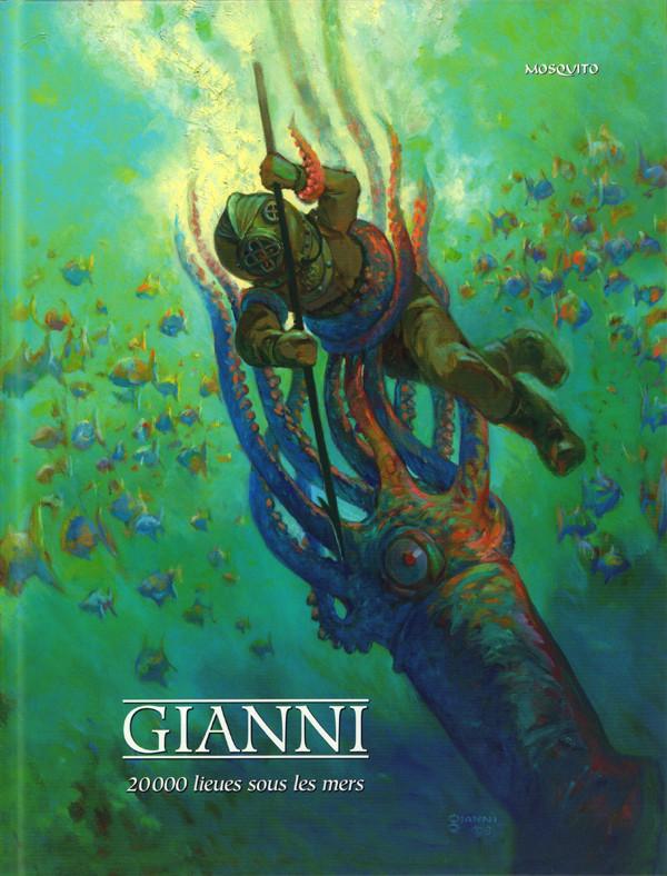 Couverture de 20 000 lieues sous les mers (Gianni) - 20 000 lieues sous les mers