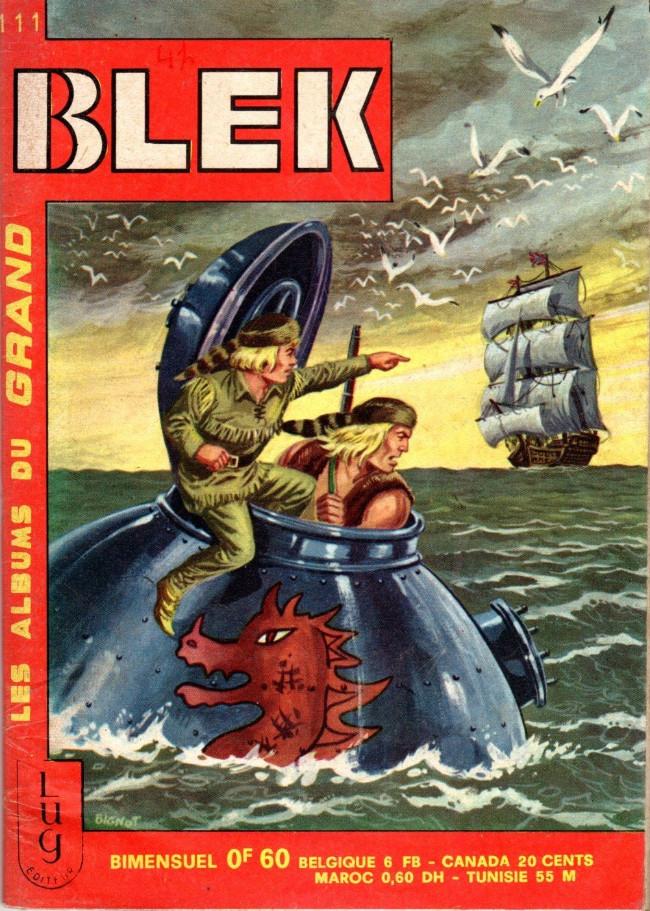 Couverture de Blek (Les albums du Grand) -111- Numéro 111